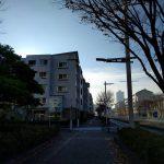 メッセ通りから左手に見えるのがパティオス14番街(外観)